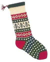 Christmas Stockings Knitting Kits; Evergreen (Stocking Evergreen)