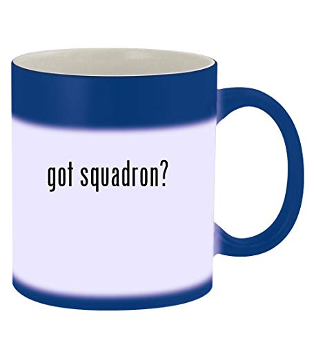 got squadron? - 11oz Magic Color Changing Mug, Blue