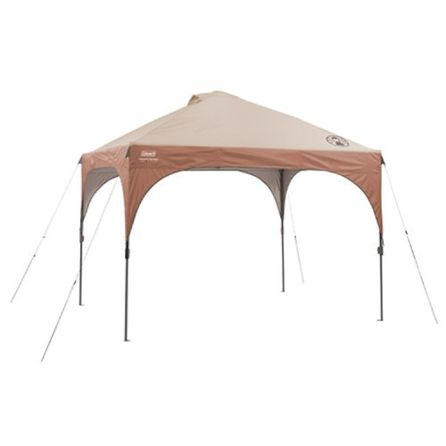 Price comparison product image Coleman Instant Canopy Tent with LED Lighting System, 10 x 10 Feet