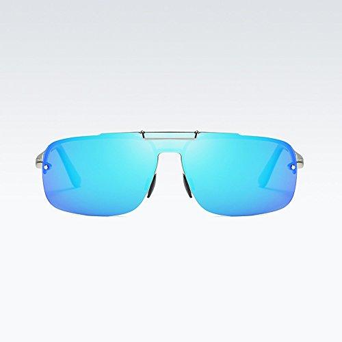 Viaje De Gafas Prueba Nuevos Sol Deportes Gafas De EquitacióN Blue Libre De De Aluminio Gafas Sol Magnesio A Gafas Al Polarizadas De Viento Aire 7vHWcI