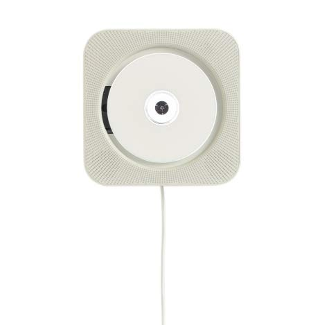 MUJI Wall Mounted CD Player CPD-3 with FM Radio (Japanese Cd Player)
