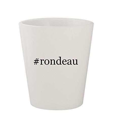 #rondeau - Ceramic White Hashtag 1.5oz Shot - Rondeau Catering