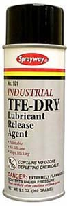 TFE-Dry Lubricant Release Agent -  Sprayway, 101