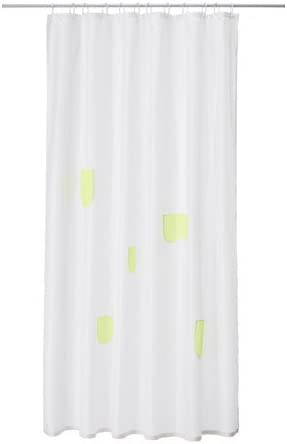 Sprutt Ikea Rideau De Douche Blanc Avec Compartiments De