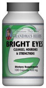 Bright Eyes - All Natural Vision Enhancer - 100 Capsules