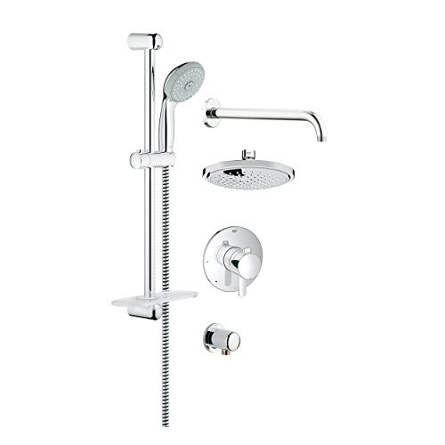 Grohe 35051000 GrohFlex Cosmopolitan PBV Shower Set with Shower head and Hand ()