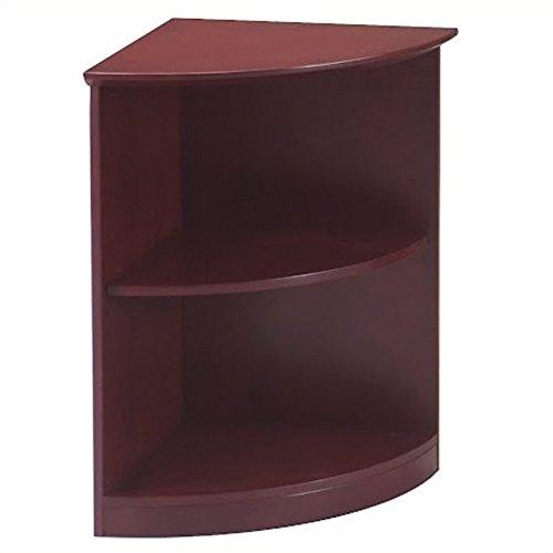 (Safco Products VBQ2CRY Napoli Bookcase, 2-Shelf, Sierra Cherry)