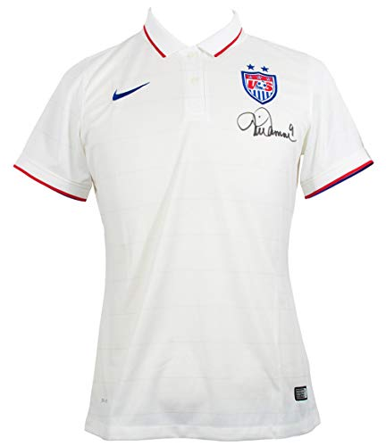 Mia Hamm Signed Nike Authentic USA Soccer Jersey Large Fanatics (Mia Hamm Nike)