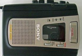 Sony TCM459V Portable Cassette Player/Recorder by Sony
