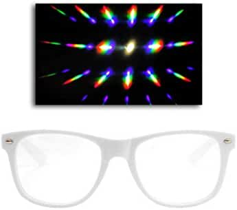 Emazing Lights Premium Diffraction Prism Rave Glasses