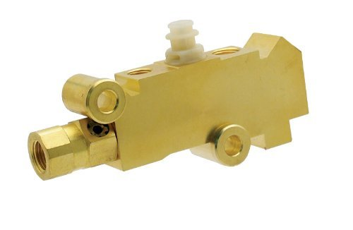 GM Brass Finish Disc / Disc Proportioning Valve Master Cylinder Booster Gm Universal 350