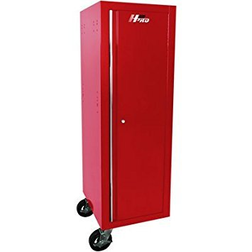 - Homak Mfg. Co, RD08019602 H2Pro Series Full Height Side Locker, Red, 19