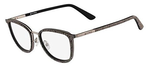 Etro ET2104 BLACK PAISLEY ROSE GOLD 51/18/140 women eyewear ()