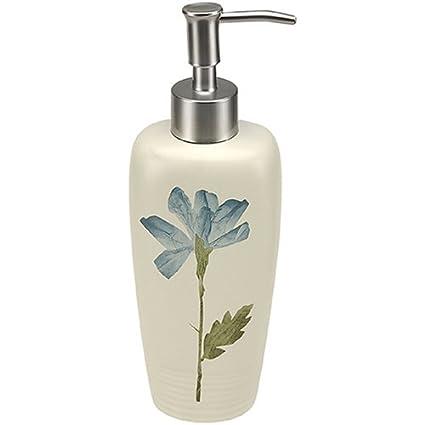 Croscill Spa Leaf Bath Collection Lotion Dispenser