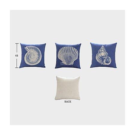 Bailand Nautical Theme Decorative Pillow Covers