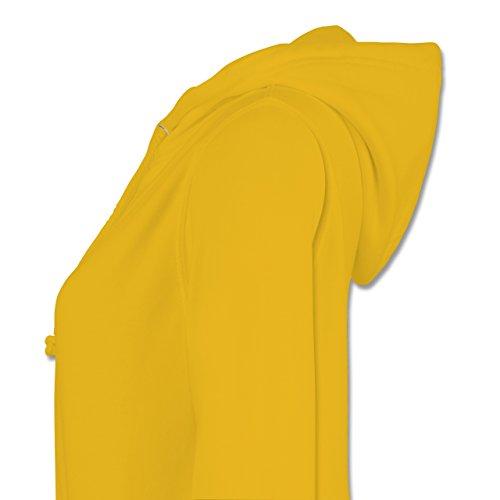 Damen Spieler - Gelb Eishockey Hoodie