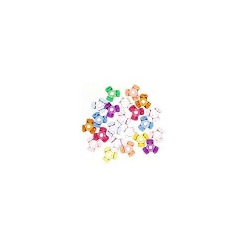 Tri-Beads 06102-7-T27 Bead Tri Translucent Multicolor