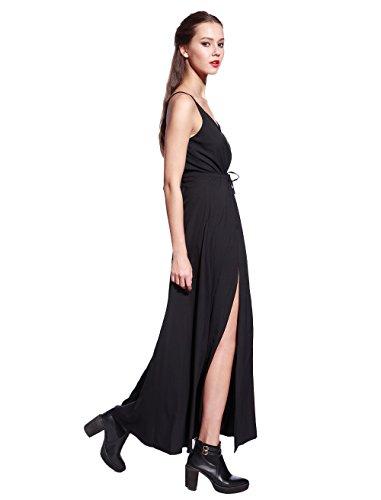 Catwalk88 Womens Maxi Côté Fente Boho Longue Maxi Robe D'été Plage Robe De Soirée