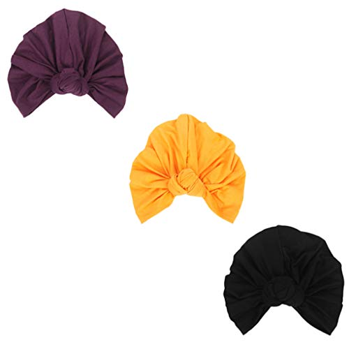 DANMY Women's Autumn Winter Knotted Hat India's Hat Turban Cap