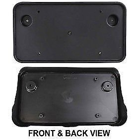 03-2011-lincoln-town-car-front-grille-license-plate-bracket-mount-new