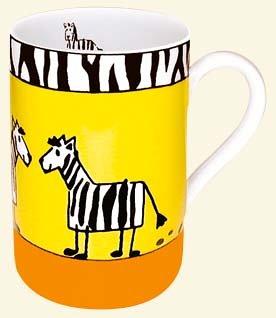 KONITZ Animal Stories Zebra mug 111 003 0627 (japan import)