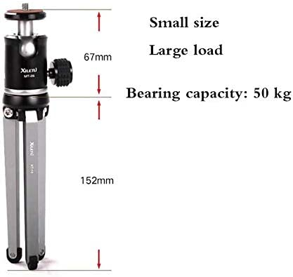Desktop Tripod Universal Adjustable Tripod Kit Including Tripod//Velvet Phone Bag Samsung and Most Other Phones,Bearing Weight 50kg Suitable for iPhone