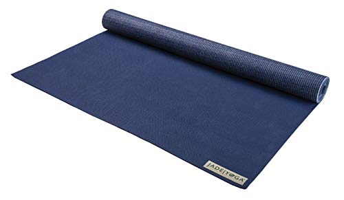 Jade Yoga Mat Yoga Travel Midnight Blue .0625In X 68In, 1 Each Bean Products Natural Rubber