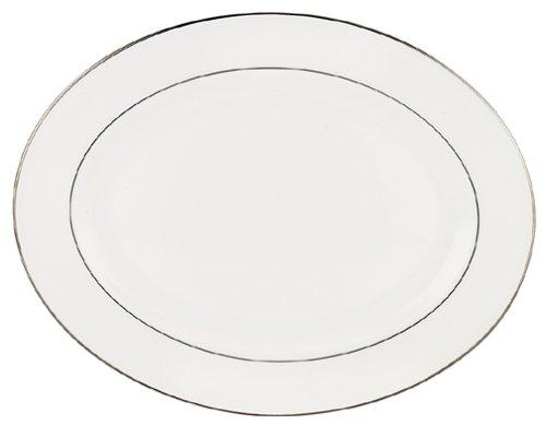 Lenox Continental Dining Platinum 16-Inch (Platinum Bone China Sauce)