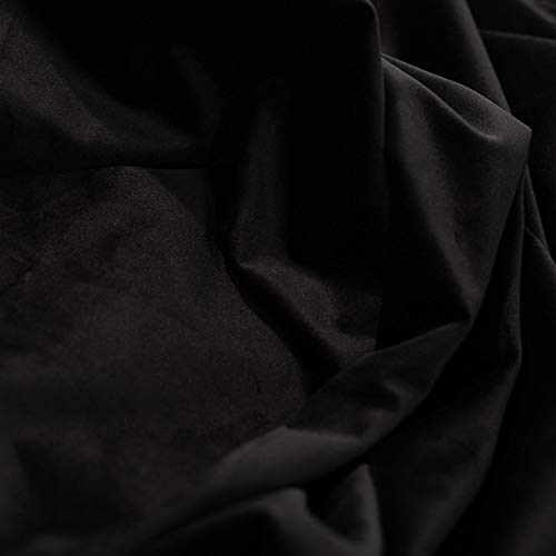 Event Decor Direct Fire Retardant Black - Casablanca Velvet Designer Drape - 57