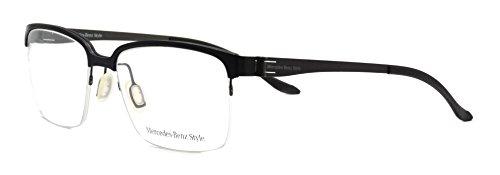 Eyeglasses Mercedes Benz M 6034 A semi rimless frame - Glasses Frames Mercedes