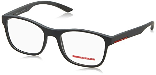 Prada PS08GV Eyeglass Frames UFK1O1-52 - Grey - Frames Eyeglass Rubber