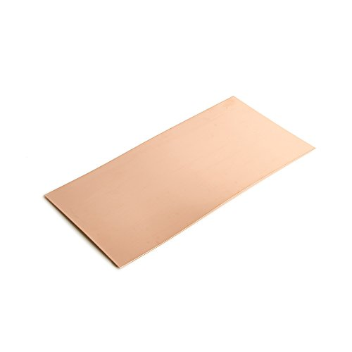 WireJewelry 24 Gauge 0.020 Dead Soft Copper Sheet Metal - 6x12 Inch -