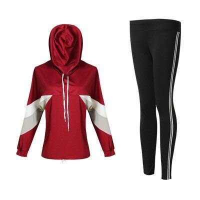 FECPD Trajes de Yoga nuevos Mujer Ropa de Gimnasia Fitness Running ...