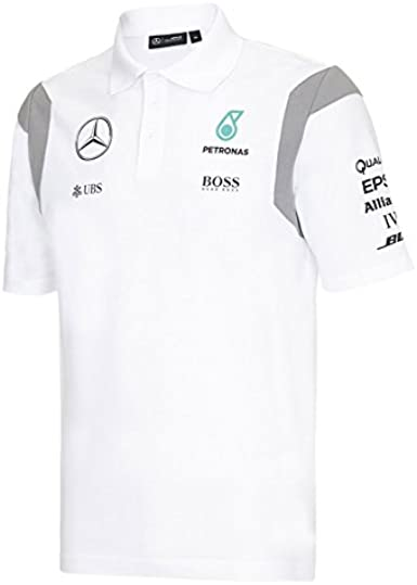 Mercedes-Benz - Polo - para hombre Blanco blanco Talla:small ...