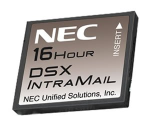 Nec DSX IntraMail Pro 4 Port 16 Hour Voicemail System with 128 mailboxes