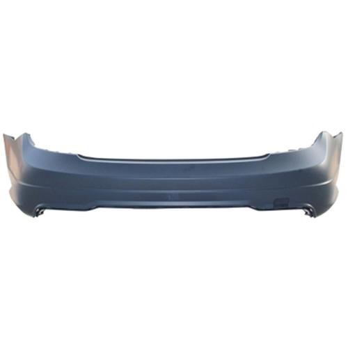 CPP Primed Rear Bumper Cover Replacement for 2012-2015 Mercedes-Benz - Bumper Amg Rear