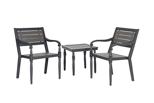 Liberty Garden Patio SR-K-620DE-3 Everwood Savannah 3pc Seating, Brown