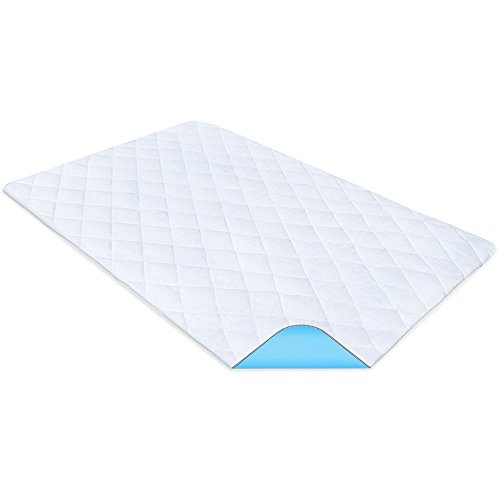 PharMeDoc Waterproof Reusable Bed Pad – 34' x 52' inches – Machine Washable - Absorbent Bedwetting & Incontinence Bed Pads and Mattress Protector Underpad