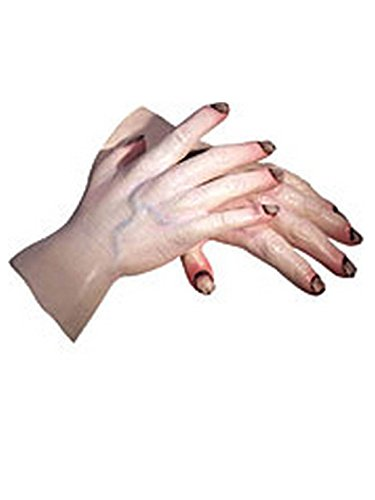 - Rubie's Men's Star Wars Adult Emperor Palpatine Latex Hands, Multicolor, One Size