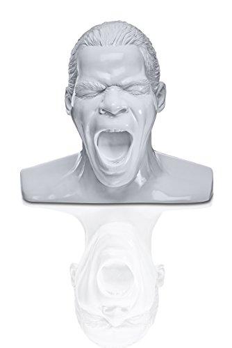 Oehlbach Kopfhörerständer in Form des Oehlbach-Kopfes, weiß