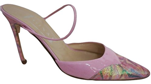 Gina (London) All Leather Patent Pink