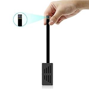 Spy Hidden Camera 1080P DIY Mini Portable Covert Nanny Video Recorder Motion Detection Security Camera Home, Car, Drone, Office