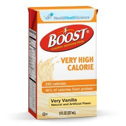 Boost VHC, Very Vanilla Flavor 8 oz. Carton, Ready to Use, 4390018216 – Each
