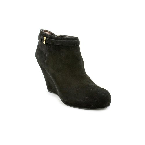 Dknyc Ramona Kvinna Svart Läder Boots Us11 Eu42.5