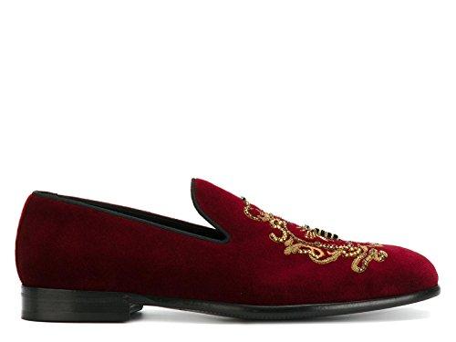 E Gabbana Uomo Di Velluto Dolce Bordeaux A50073al3058b420 Mocassini dC5wcqY