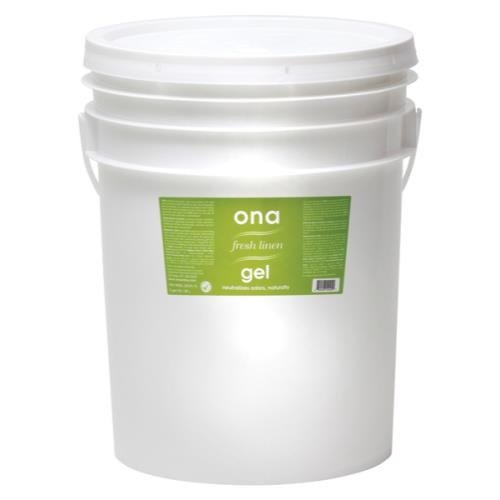 (Ona Gel Fresh Linen, 5 Gallon Nutrient, Pail, White)