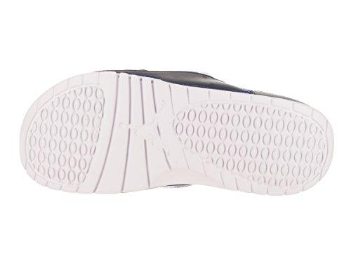 Jordan Nike Mens Hydro Xi Retro Sandal Vit / Universitet / Blå