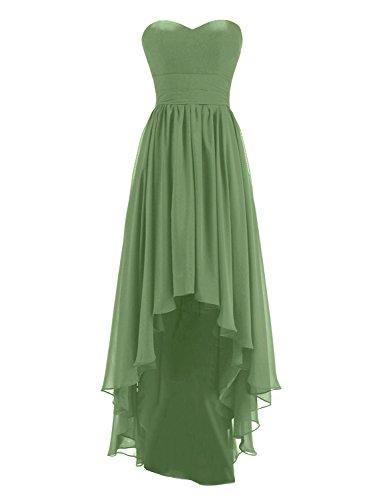 New Womens Moss Green Dress - 7