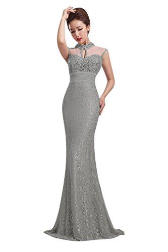 Kleid Emily Grau 34 Gr Beauty Grau Damen wEHxXda