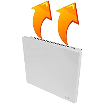 New Age Living Phantom 4 Wall Panel Heater - 400W - Radiant & Convection Heating - Silent With No Moving Parts - TUV Rated For Safe Home Use